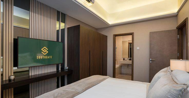 Tipe 2BR + MAID - bedroom